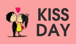 kiss day status