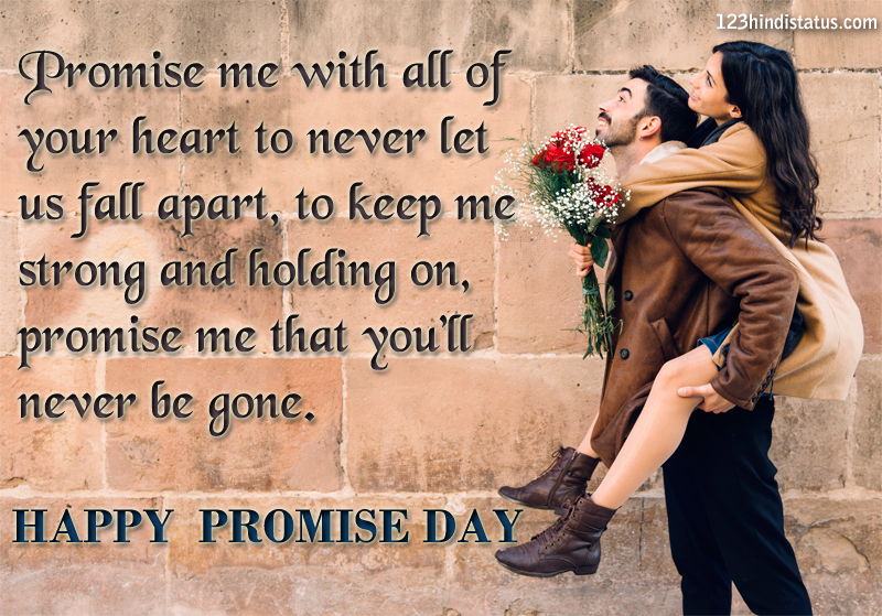happy promise day status image