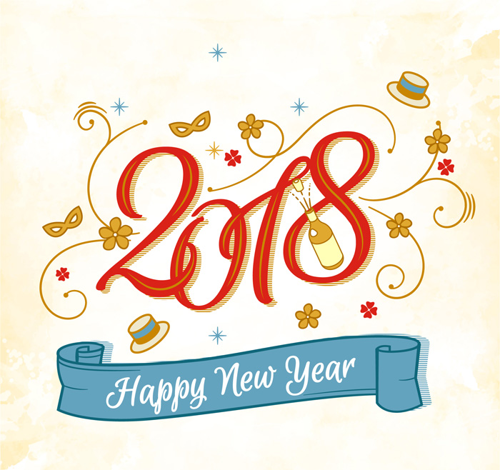 download new year 2018 images