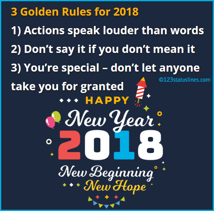 happy new year status in english images