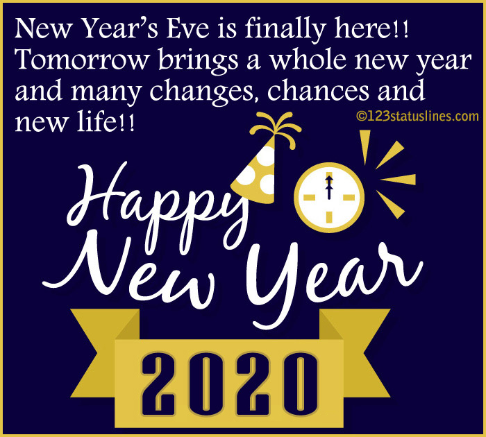 New Year 2020 Images Facebook